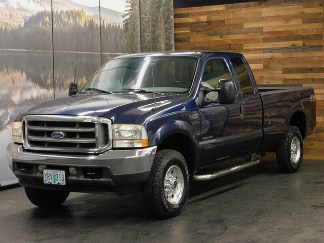 2002 Ford F-250 Super Duty XLT 4WD Extended Cab LB