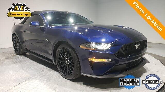 2020 Ford Mustang GT Premium Convertible RWD