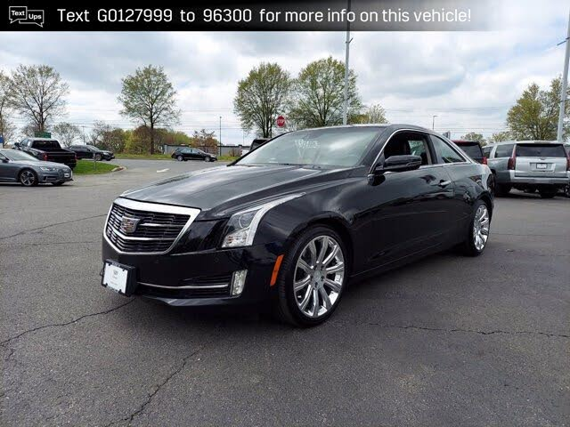 2016 Cadillac ATS Coupe 2.0T Performance RWD