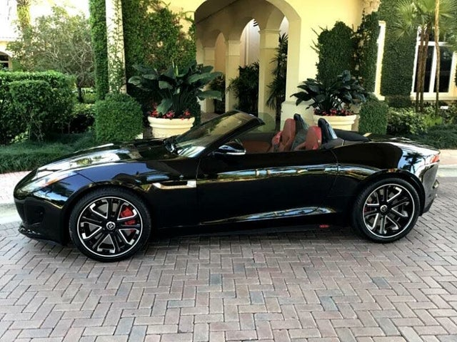 2014 Jaguar F-TYPE S V8 Convertible RWD