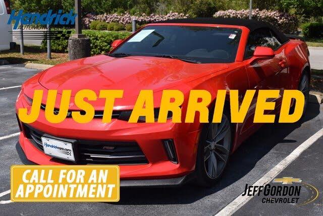 2016 Chevrolet Camaro 1LT Convertible RWD