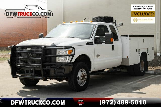 2013 Ford F-350 Super Duty Chassis XL SuperCab DRW 4WD