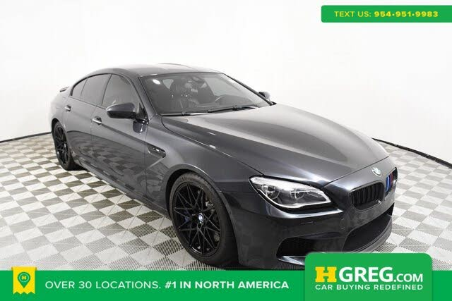 2016 BMW M6 Gran Coupe RWD