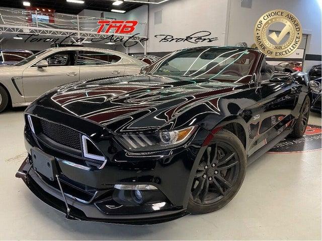 2017 Ford Mustang GT Premium Convertible RWD