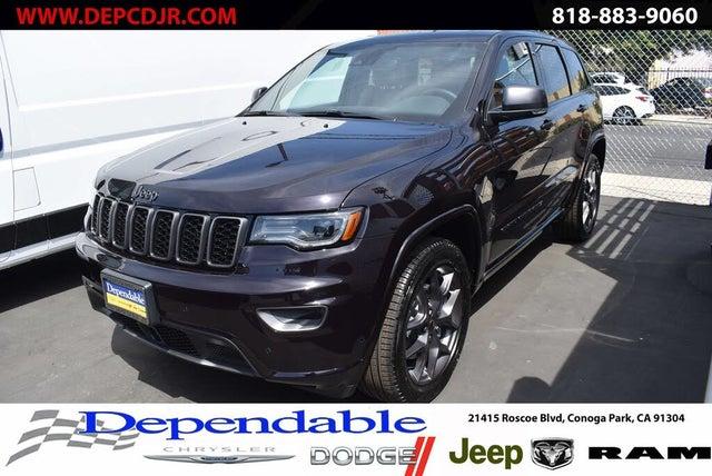 2021 Jeep Grand Cherokee 80th Anniversary Edition RWD