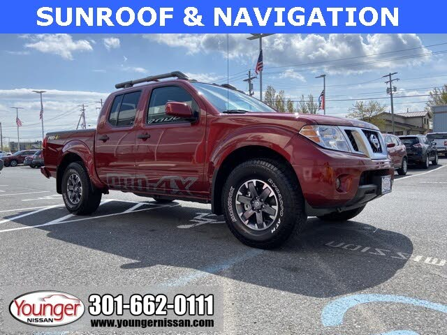 2020 Nissan Frontier PRO-4X Crew Cab 4WD