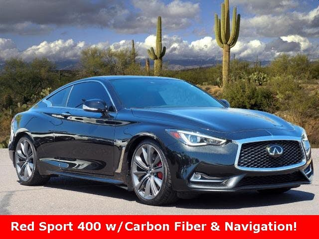 2019 INFINITI Q60 Red Sport 400 Coupe RWD