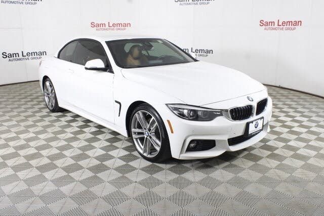 2019 BMW 4 Series 430i Convertible RWD