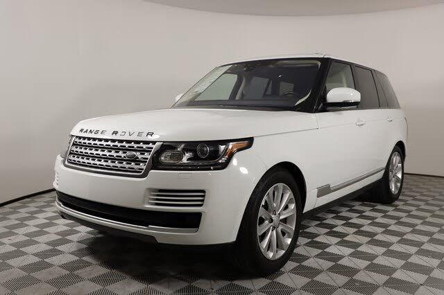 2017 Land Rover Range Rover V6 HSE 4WD