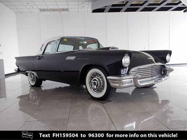 1957 Ford Thunderbird Convertible with Removable Hardtop