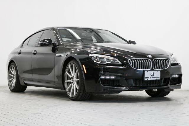 2016 BMW 6 Series 650i Gran Coupe RWD