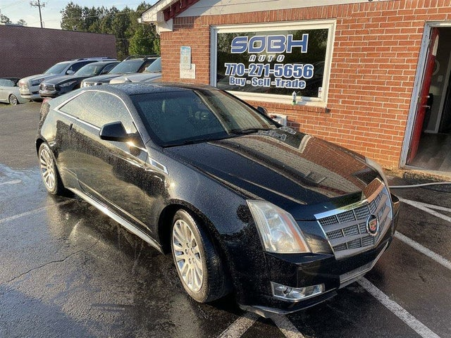 2011 Cadillac CTS Coupe 3.6L Premium AWD