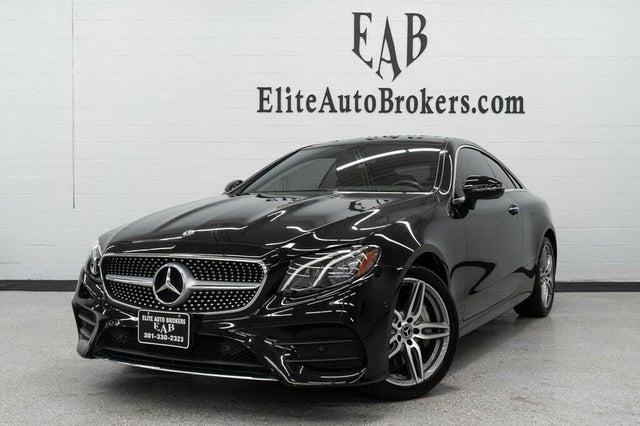 2018 Mercedes-Benz E-Class E 400 4MATIC Coupe AWD