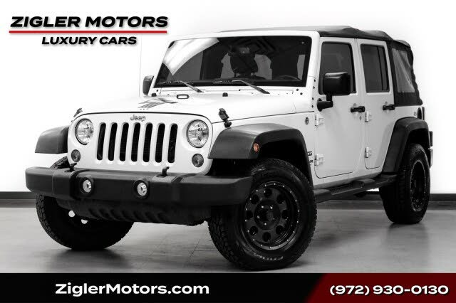 2015 Jeep Wrangler Unlimited Freedom Edition 4WD
