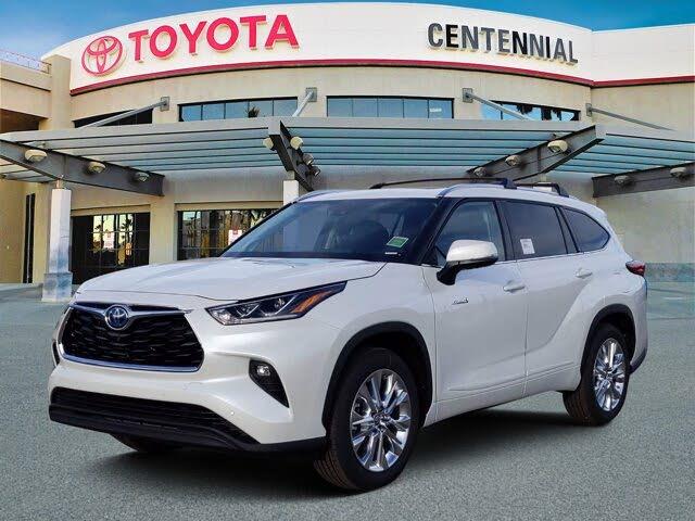 2021 Toyota Highlander Hybrid Limited FWD