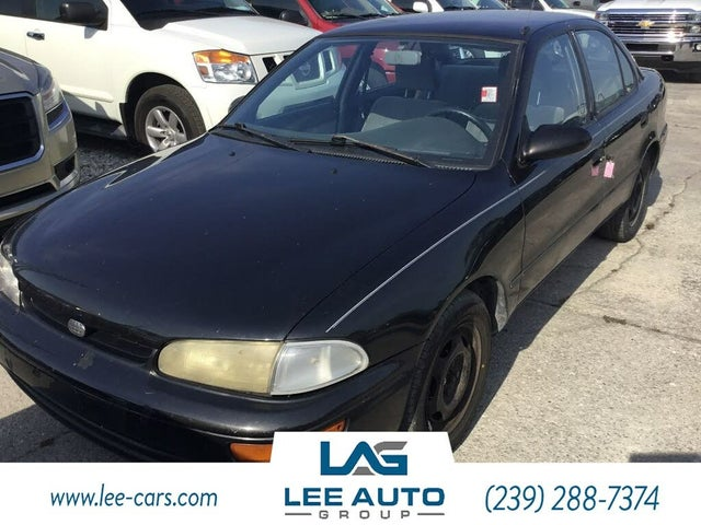 1996 Geo Prizm 4 Dr STD Sedan