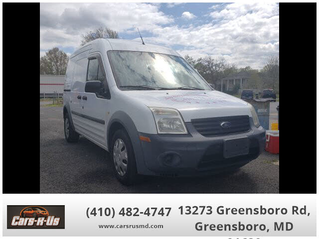 2012 Ford Transit Connect Cargo XL FWD with Rear Glass