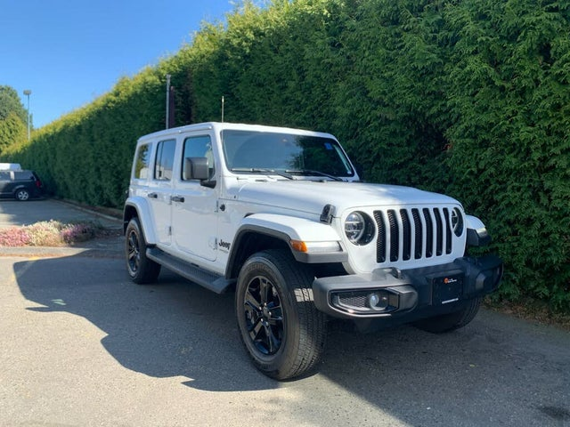 2020 Jeep Wrangler Unlimited Sahara Altitude 4WD