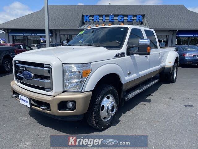 2014 Ford F-350 Super Duty King Ranch Crew Cab LB DRW 4WD