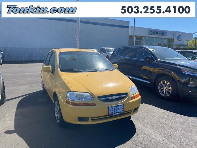 2007 Chevrolet Aveo 5 Special Value Hatchback FWD