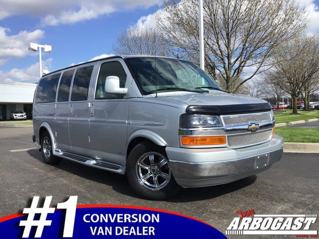 2014 Chevrolet Express Cargo 1500 AWD with Upfitter