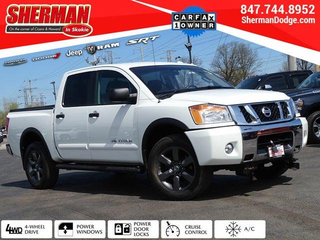 2015 Nissan Titan SV Crew Cab 4WD