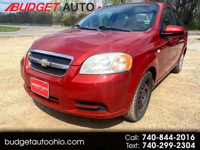 2008 Chevrolet Aveo LS Sedan FWD