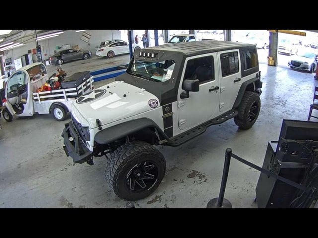 2018 Jeep Wrangler Unlimited JK Freedom Edition 4WD