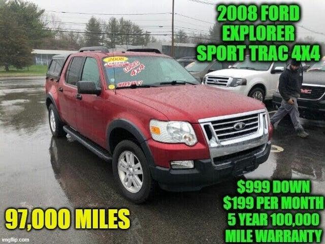 2008 Ford Explorer Sport Trac XLT 4WD
