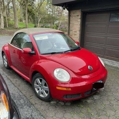 2007 Volkswagen Beetle 2.5L Convertible