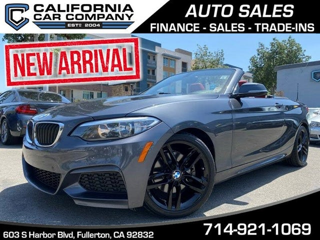 2016 BMW 2 Series 228i Convertible RWD