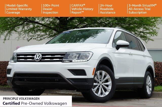 2018 Volkswagen Tiguan S 4Motion AWD