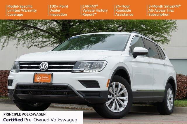 2018 Volkswagen Tiguan SE 4Motion AWD