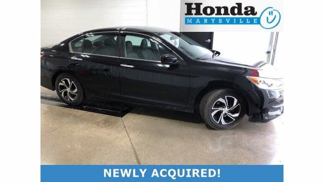 2017 Honda Accord LX FWD with Honda Sensing