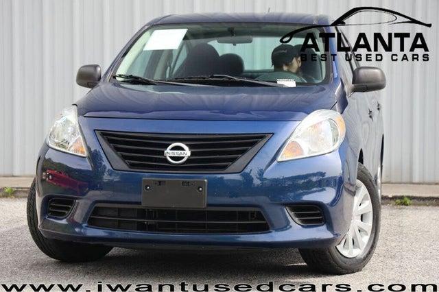 2013 Nissan Versa 1.6 S Plus