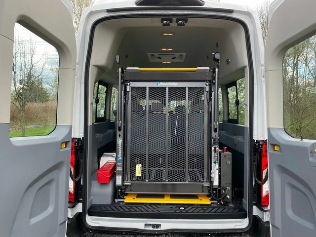 2019 Ford Transit Passenger 350 HD XL Extended High Roof LWB DRW RWD with Sliding Passenger-Side Door