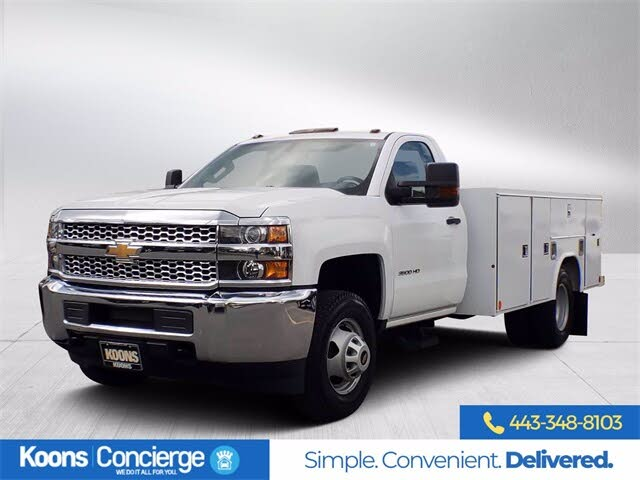 2019 Chevrolet Silverado 3500HD Chassis Work Truck 4WD