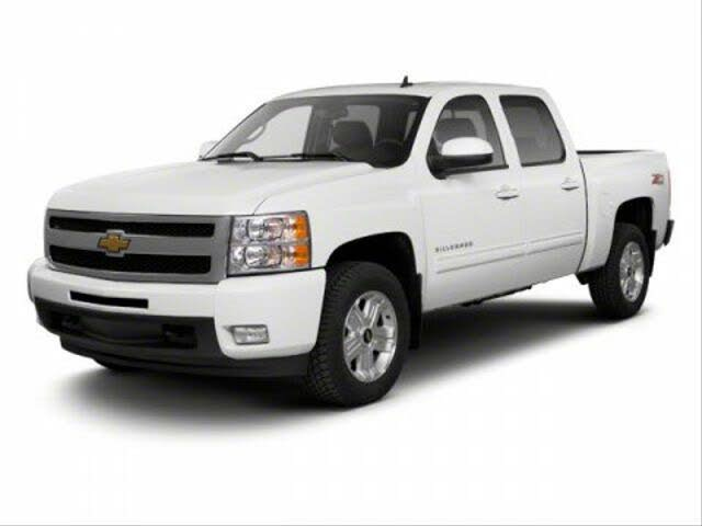 2013 Chevrolet Silverado 1500 Work Truck Crew Cab RWD