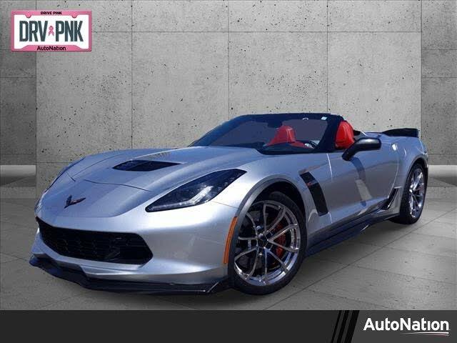 2016 Chevrolet Corvette Z06 3LZ Convertible RWD