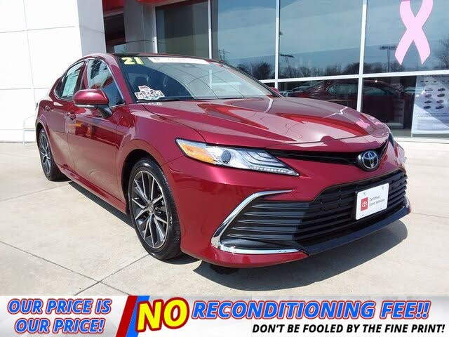 2021 Toyota Camry XLE FWD