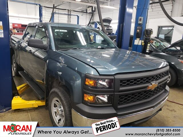 2014 Chevrolet Silverado 1500 Work Truck 1WT Crew Cab 4WD