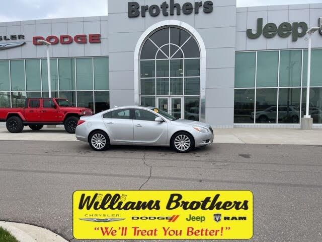 2013 Buick Regal Premium I Turbo Sedan FWD