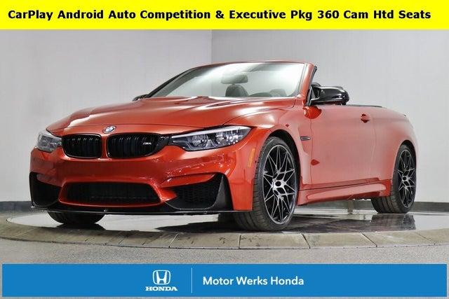 2019 BMW M4 Convertible RWD