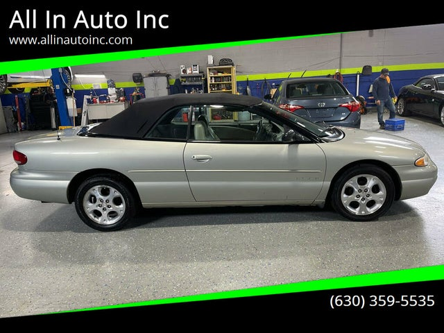 2000 Chrysler Sebring JXi Limited Convertible FWD