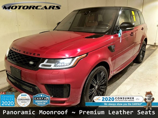 2018 Land Rover Range Rover Sport V8 Autobiography Dynamic 4WD