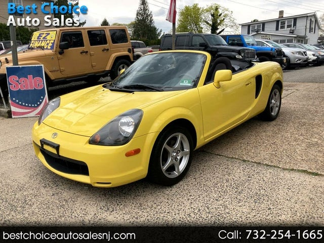 2002 Toyota MR2 Spyder 2 Dr STD Convertible