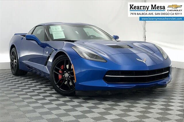 2014 Chevrolet Corvette Stingray 3LT Coupe RWD