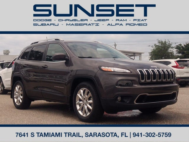 2018 Jeep Cherokee Limited FWD