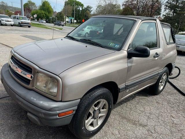 2002 Chevrolet Tracker 2-Door Soft Top RWD
