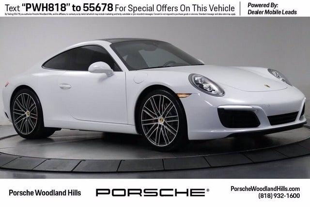 2019 Porsche 911 Carrera GTS Coupe RWD
